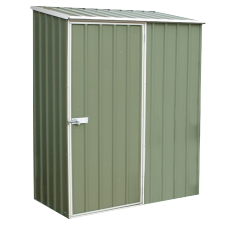 Pale Eucalypt Space Saver Shed with 1 Door 1.5m x 0.81m x 1.95m(h)